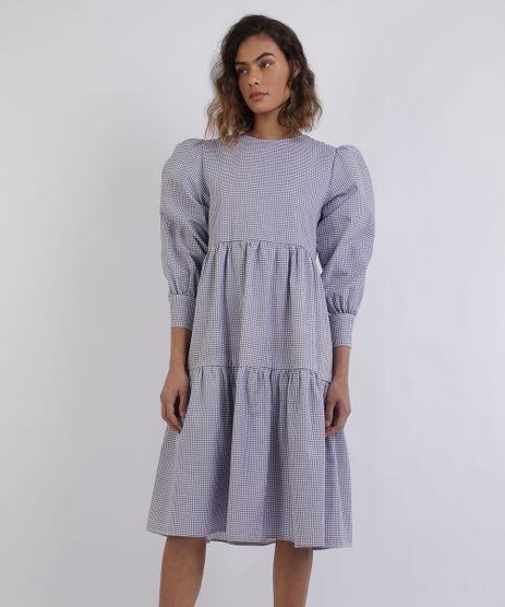 Vestido-Feminino-Mindset-Midi-Estampado-Xadrez-Com-Babado-Manga-Longa-Roxo-9958201-Roxo_1