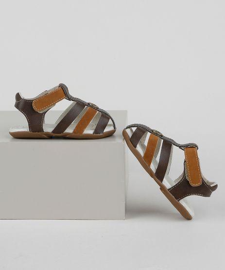 Sandalia-Papete-Infantil-Pimpolho-com-Velcro-Marrom-9959670-Marrom_1
