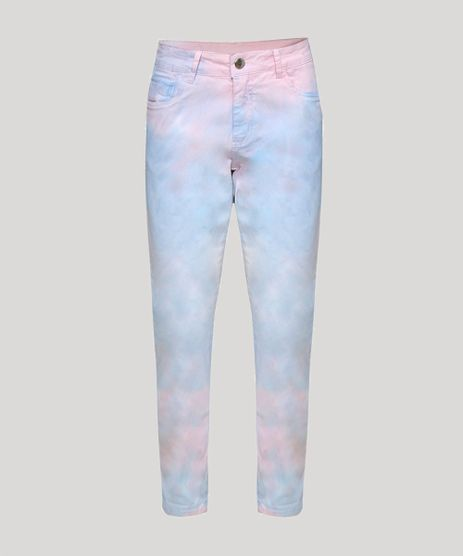 Calca-Jeans-Feminina-Skinny-Cintura-Alta-Tie-Dye-Multicor-9961017-Multicor_1