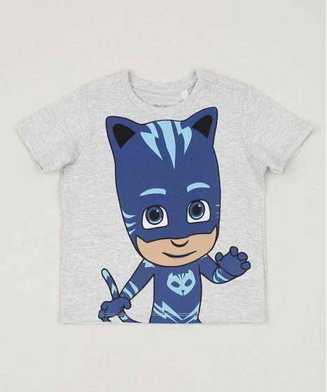 Camiseta-Infantil-PJ-Masks-Manga-Curta-Gola-Careca-Cinza-Mescla-9958600-Cinza_Mescla_1