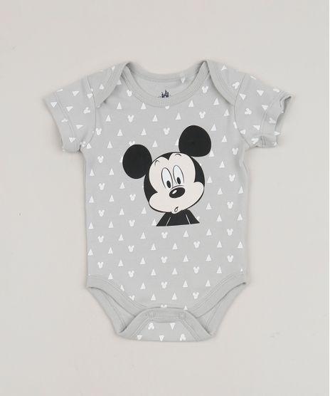 Body-Infantil-Mickey-Estampado-Manga-Curta-Cinza-Mescla-Claro-9932462-Cinza_Mescla_Claro_1