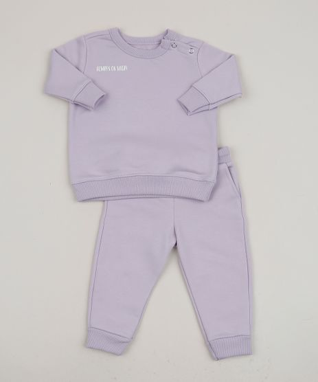 Conjunto-Infantil-de-Blusao---Calca-de-Moletom-Lilas-9958613-Lilas_1