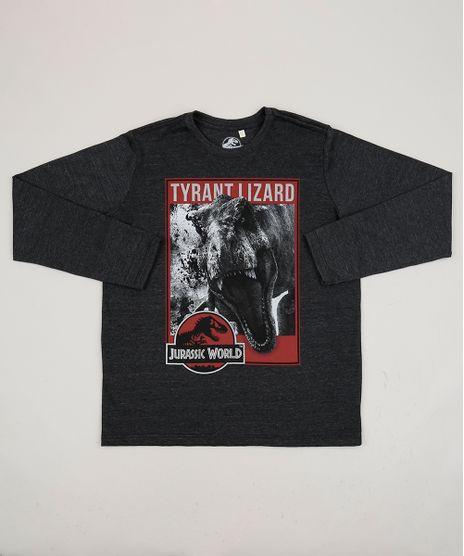 Camiseta-Juvenil-Jurassic-Park-Manga-Longa-Gola-Careca-Cinza-Mescla-Escuro-9945382-Cinza_Mescla_Escuro_1