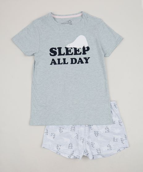 Pijama-Juvenil--Sleep-All-Day--Manga-Curta-Azul-Claro-9958083-Azul_Claro_1
