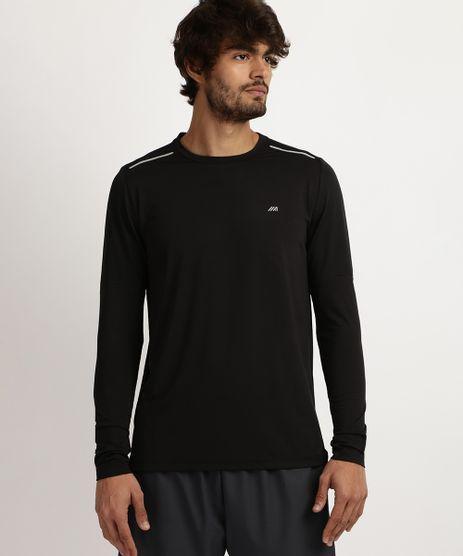 Camiseta-Masculina-Esporte-Ace-com-Protecao-UV-50--Manga-Longa-e-Gola-Careca--Preta-9958498-Preto_1
