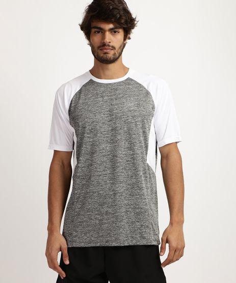 Camiseta-Masculina-Esporte-Ace-Recorte-com-Tela-Protecao-UV-50--Manga-Curta-e-Gola-Careca--Cinza-Mescla-9958499-Cinza_Mescla_1