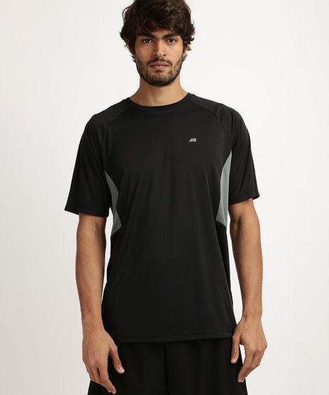 Camiseta-Masculina-Esporte-Ace-Recorte-com-Tela-Protecao-UV-50--Manga-Curta-e-Gola-Careca--Preta-9958500-Preto_1
