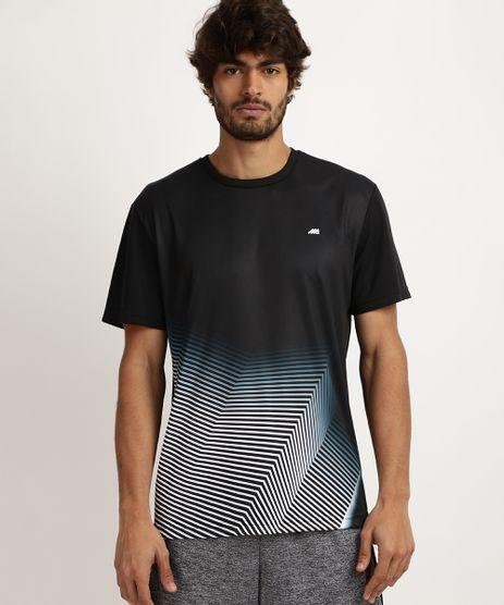 Camiseta-Masculina-Esporte-Ace-Estampada-Geometrica-com-Protecao-UV-50--Manga-Curta-e-Gola-Careca--Preta-9959876-Preto_1