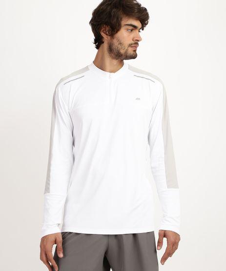 Camiseta-Masculina-Esporte-Ace-com-Refletivo-e-Meio-Ziper-Manga-Longa-e-Gola-Careca--Branca-9958503-Branco_1