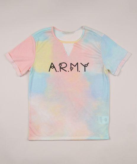 Blusa-Juvenil--Army--Estampada-Tie-Dye-Manga-Curta-Decote-Redondo-Multicor-9955047-Multicor_1