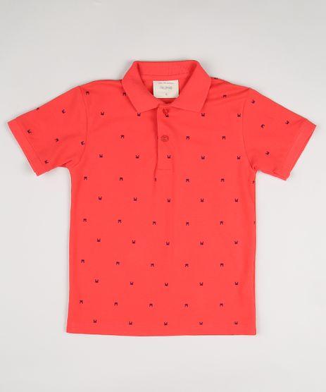 Camisa-Infantil-Estampada-de-Caranguejo-Manga-Curta-Vermelho-9922331-Vermelho_1