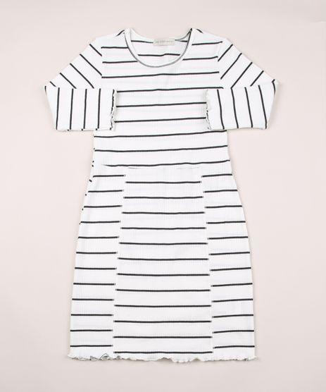 Vestido-Juvenil-Canelado-Listrado-Manga-Longa-Branco-9950123-Branco_1
