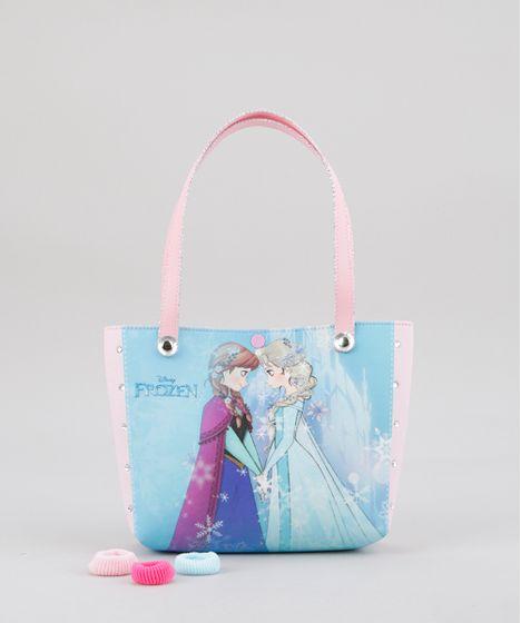 5ba167410 Bolsa-Frozen--Azul-Claro-8741768-Azul_Claro_1 ...