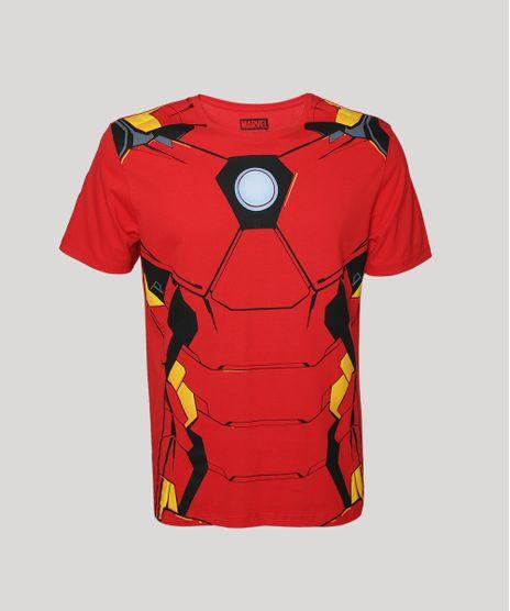 Camiseta-Masculina-Homem-de-Ferro-Manga-Curta-Gola-Careca-Vermelha-9957586-Vermelho_1
