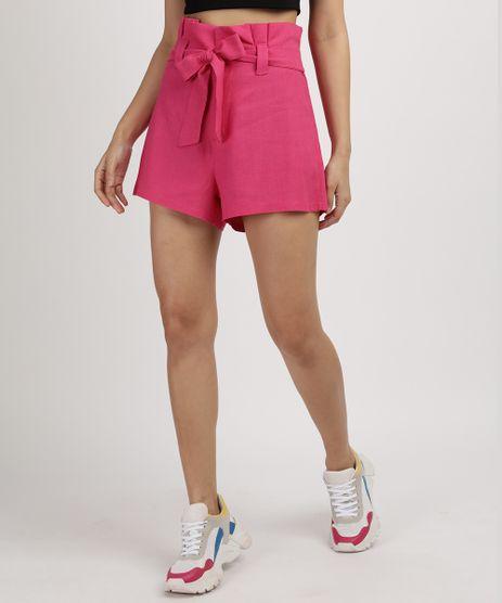 Short-Feminino-Clochard-Alfaiataria-Cintura-Super-Alta-com-Faixa-Pink-9959457-Pink_1