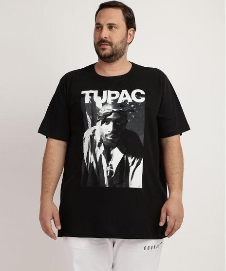 Camiseta--Masculina-Plus-Size-Tupac-Manga-Longa-Gola-Careca-Preta-9957530-Preto_1
