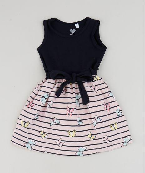 Vestido-Infantil-Estampado-de-Listras-e-Borboletas-sem-Manga-Azul-Marinho-9947984-Azul_Marinho_1
