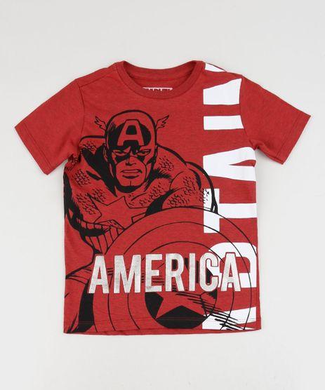 Camiseta-Infantil-Capitao-America-Manga-Curta-Vermelha-9954192-Vermelho_1