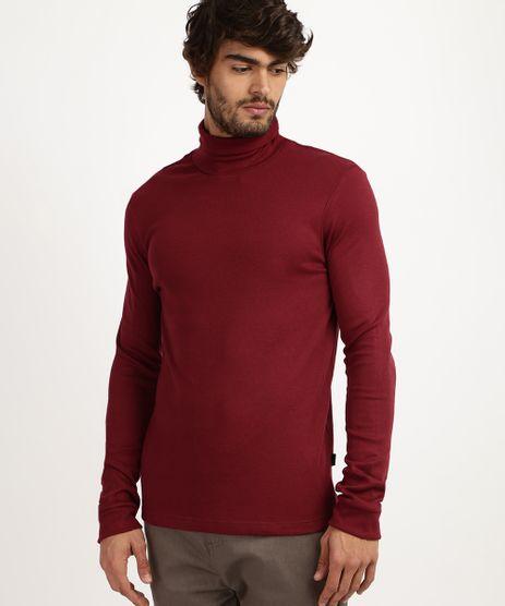 Camiseta-Masculina-Basica-Manga-Longa-Gola-Alta-Vinho-9524266-Vinho_1