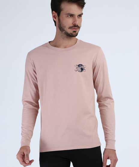 Camiseta-Masculina-Planeta-Terra-Manga-Longa-Gola-Careca-Rosa-9956885-Rosa_1
