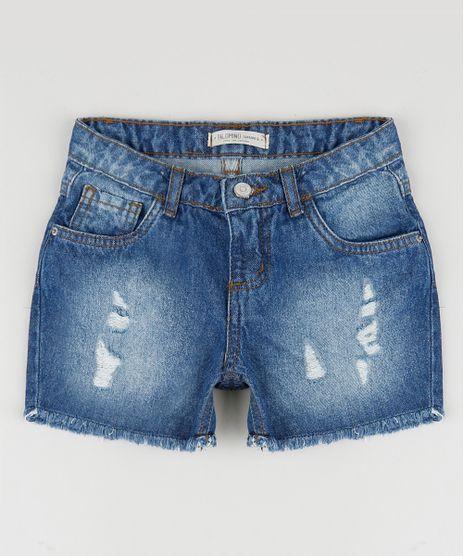 Short-Jeans-Infantil-Reto-Destroyed-Azul-Escuro-9957881-Azul_Escuro_1