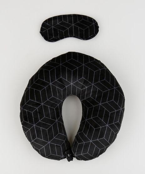 Kit-de-Apoio-de-Pescoco-Estampado-Geometrico---Tapa-Olho-Preto-9946750-Preto_1