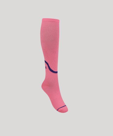 Meia-Feminina-3-4--Runner--Rosa-Neon-9957330-Rosa_Neon_1
