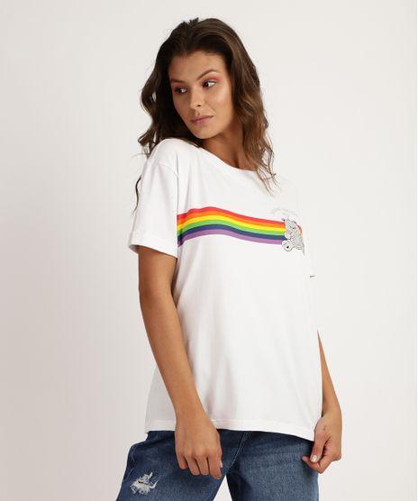 Blusa-Feminina-Pride-Ursinhos-Carinhosos-Manga-Curta-Branca-9955680-Branco_1
