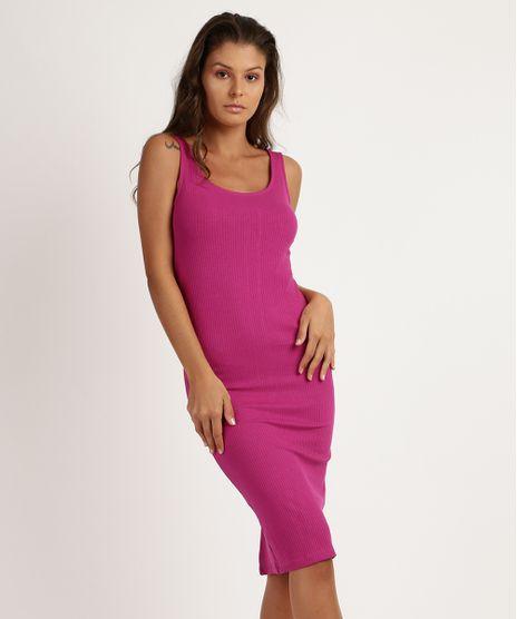 Vestido-Feminino-Midi-Canelado-Alca-Larga-Pink-9944304-Pink_1
