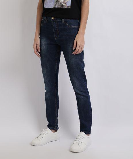 Calca-Jeans-Feminina-Cigarrete-Cintura-Alta-Azul-Medio-9949330-Azul_Medio_1