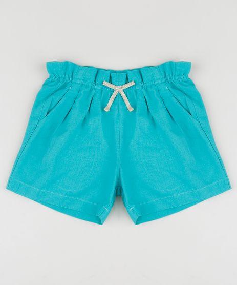 Short-Infantil-de-Linho-com-Bolso-Azul-9955418-Azul_1