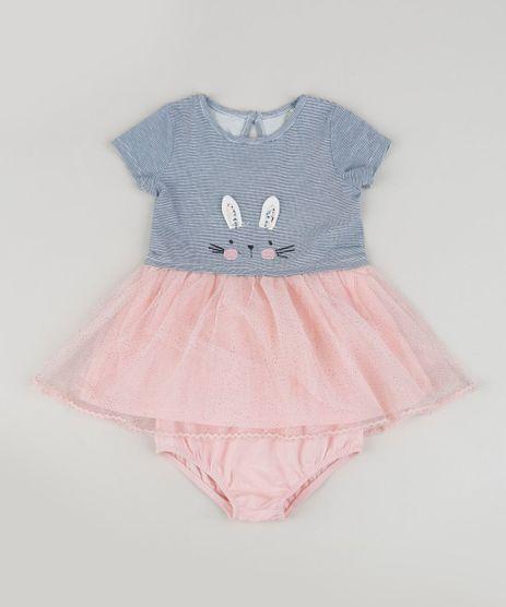 Vestido-Infantil-Listrado-com-Tule---Calcinha-Azul-Marinho-9833228-Azul_Marinho_1
