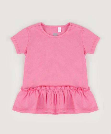 Blusa-Infantil-com-Babados-e-Glitter-Manga-Curta-Pink-9953950-Pink_1