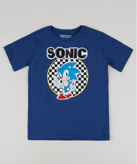 Camiseta-Infantil-Sonic-Manga-Curta-Gola-Careca-Azul-Escuro-9955100-Azul_Escuro_1