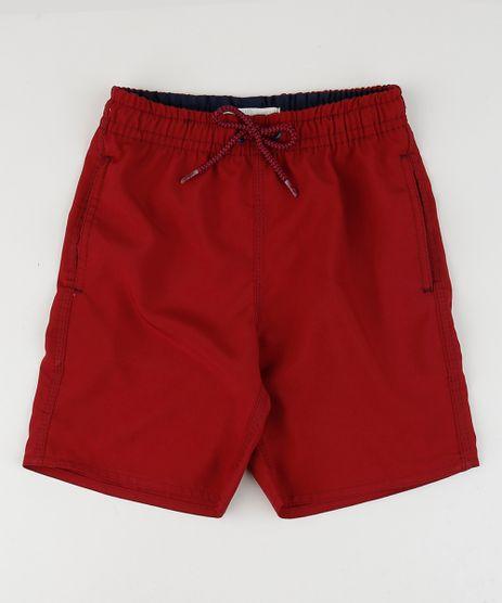 Bermuda-Surf-Infantil-Basica-com-Bolso--Vermelho-9663800-Vermelho_1