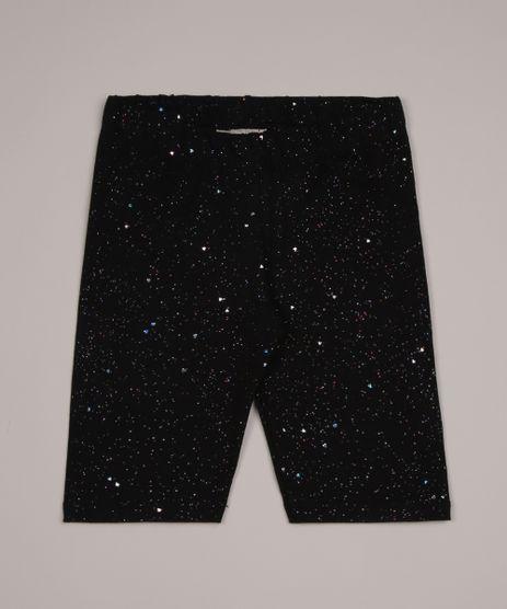 Bermuda-Infantil-Ciclista-com-Glitter-Preta-9953107-Preto_1