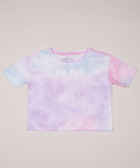 Blusa-Infantil-Cropped--Girl-Power--Estampada-Tie-Dye-Manga-Curta-Rosa-9956261-Rosa_1