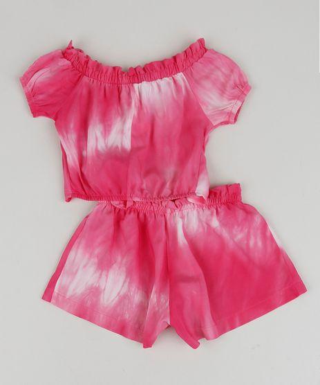 Conjunto-Infantil-Estampado-Tie-Dye-de-Blusa---Short-Rosa-9959597-Rosa_2