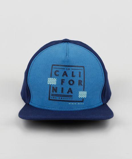 Bone-Infantil-Aba-Reta--California--Azul-Escuro-9944438-Azul_Escuro_1