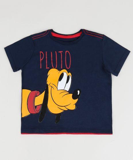 Camiseta-Infantil-Pluto-Manga-Curta-Gola-Careca-Azul-Marinho-9957708-Azul_Marinho_1