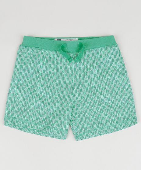 Short-Infantil-Porco-Espinho-Estampado-Geometrico-com-Cordao-Verde-Agua-9849588-Verde_Agua_1