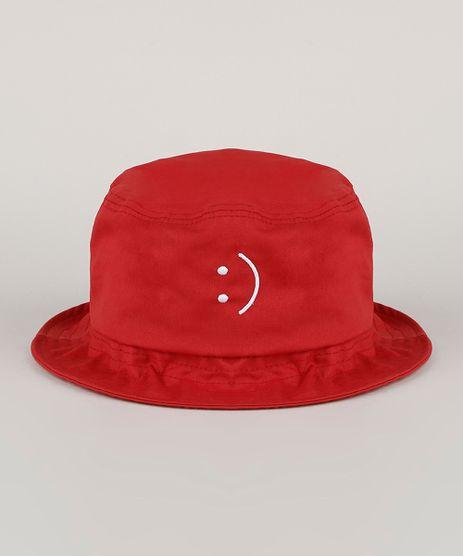 Chapeu-de-Sarja-Masculino-Bucket-com-Bordado-Vermelho-9957462-Vermelho_1