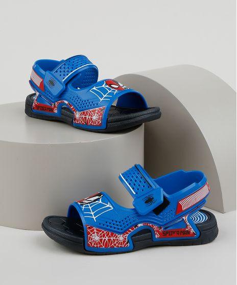Sandalia-Papete-Infantil-Grendene-Homem-Aranha-Azul-9951885-Azul_1