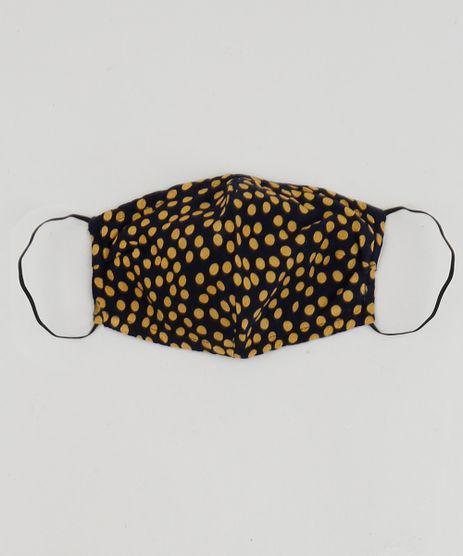 Mascara-de-Tecido-Reutilizavel-para-Protecao-Individual-Estampada-de-Poa-Azul-Marinho-9953314-Azul_Marinho_1
