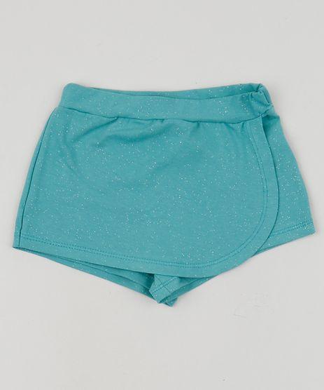 Short-Saia-Infantil-Envelope-com-Glitter-Verde-9956154-Verde_1
