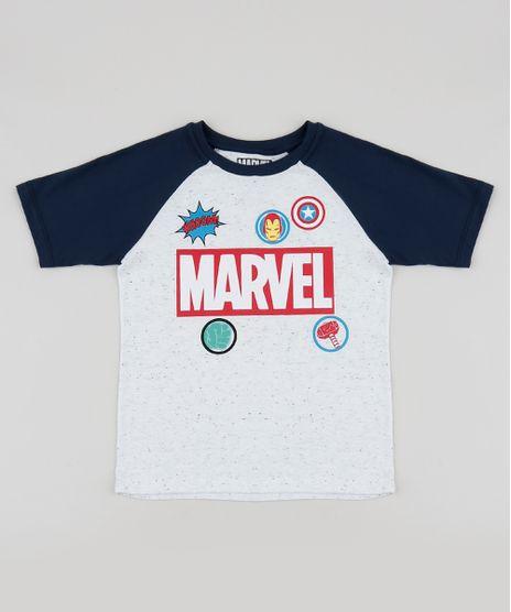 Camiseta-Infantil-Marvel-Raglan-Manga-Curta-Branca-9943008-Branco_1