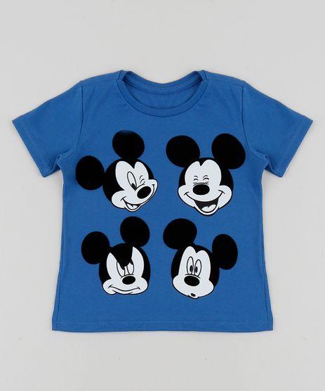 Camiseta-Infantil-Mickey-Manga-Curta-Azul-9953106-Azul_1