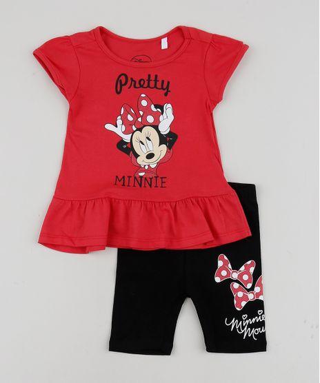 Conjunto-Infantil-Blusa-Minnie-com-Babado-Manga-Curta---Bermuda--Vermelha-9954161-Vermelho_1