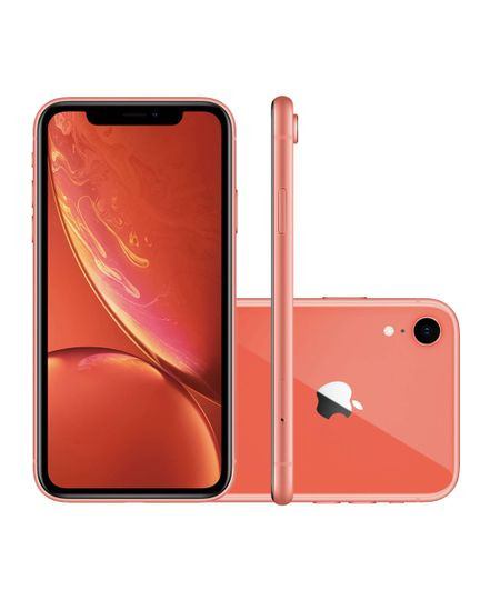 Celular Smartphone Apple iPhone Xr 64gb Coral - 1 Chip