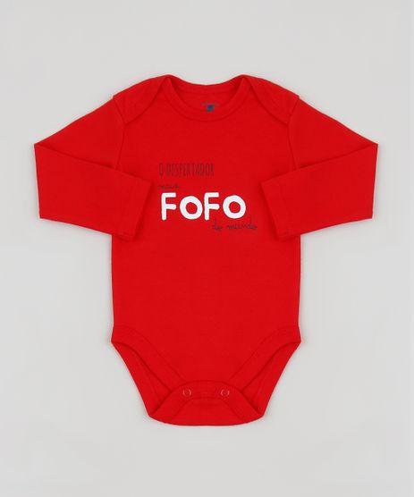 Body-Infantil--O-Despertador-mais-Fofo-do-Mundo--Manga-Longa-Vermelho-9842931-Vermelho_1